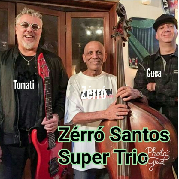 Show com Zérró Santos Super Trio na Board House - Sp.