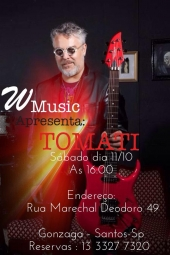 Workshop na WMusic dia 11 de outubro. Santos - SP.