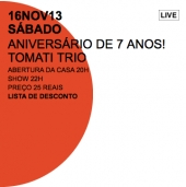 Tomati Trio no Jazz nos Fundos!