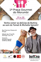 Michelle Spinelli & Tomati DUO no 1˚ Praça Gourmet do Morumbi - SP